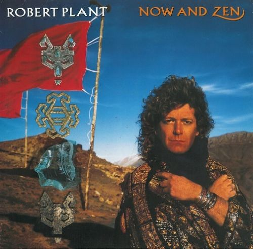 ROBERT PLANT Now And Zen Vinyl Record LP German Esparanza 1988